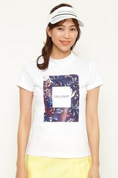 CALLAWAY 半袖モックネックシャツ (WOMENS)