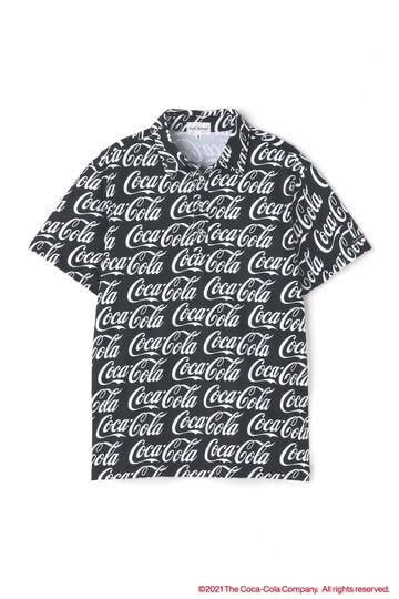 【Coca-Cola】トランスクールカノコ 半袖 ポロシャツ