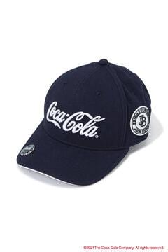 【Coca-Cola】瓶のふたマーカー付き コットン キャップ (UNISEX)