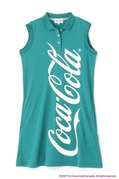 【Coca-Cola】トランス クール カノコ ポロワンピース