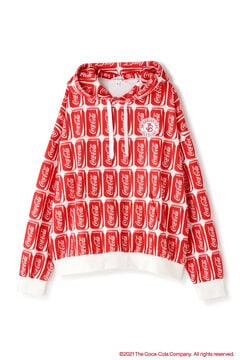 【Coca-Cola】裏毛 プルオーバー フーディ