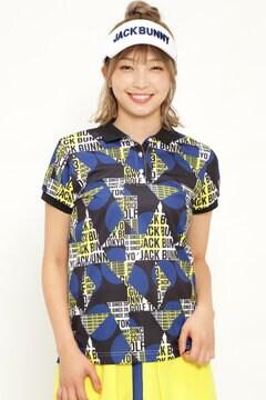 タイポグラフィック カノコ 半袖 ポロシャツ