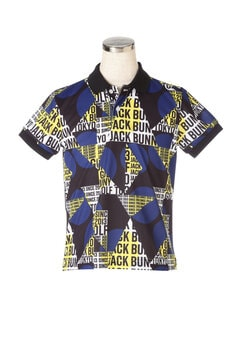 タイポグラフィック カノコ 半袖 ポロシャツ (JUNIOR)