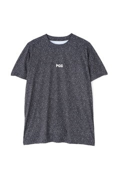 【PGG】MFY 超軽量 天竺 半袖 Tシャツ <カタカナ柄> (MENS)