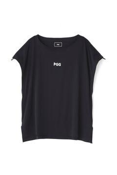 【PGG】MFY 超軽量天竺 半袖 ボートネック サイドスリット カットソー プルオーバー(LADIES)