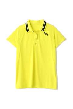 【PGG】MSY 軽量 天竺×メッシュ 半袖 ポロシャツ (LADIES)