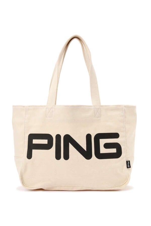 【PING APPAREL】リネン カート バッグ (UNISEX)