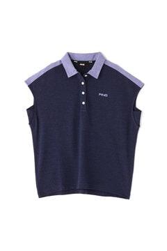 【PING APPAREL】共襟ポロシャツ (LADIES)
