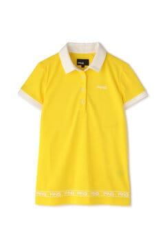 【PING APPAREL】サッカー ボール ジャガード 半袖 ポロシャツ (LADIES)