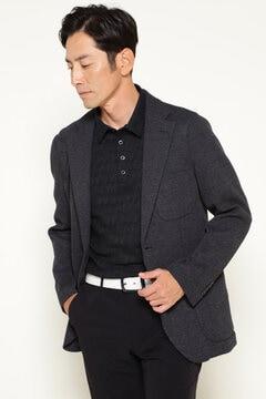 TOP ワッフル テーラード ジャケット