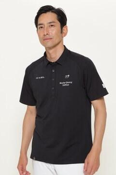 Wフェイス ストレッチ ジャージ 半袖 ポロシャツ