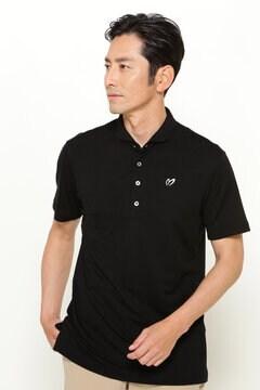 シルク ベア カノコ 半袖 ポロシャツ