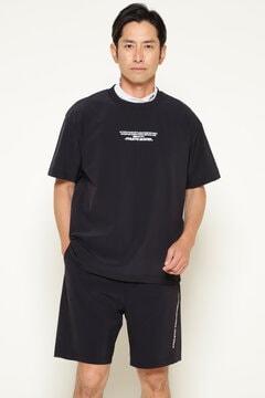 2WAY ストレッチ Nクロス 収納袋付き 撥水 Tシャツ×ショートパンツ