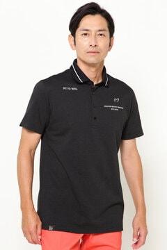 フルフラン タックジャガード 半袖 ポロシャツ