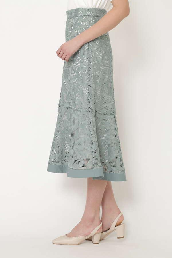 セシィーレーススカート