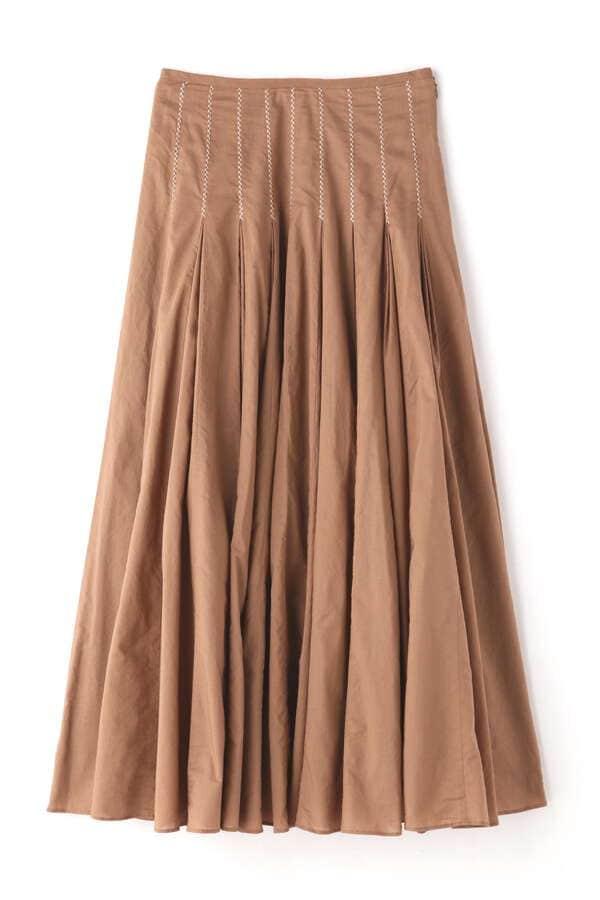 《EXCLUSIVE LINE》ボリュームコットンスカート
