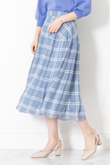 《Endy ROBE》デニスフレアスカート