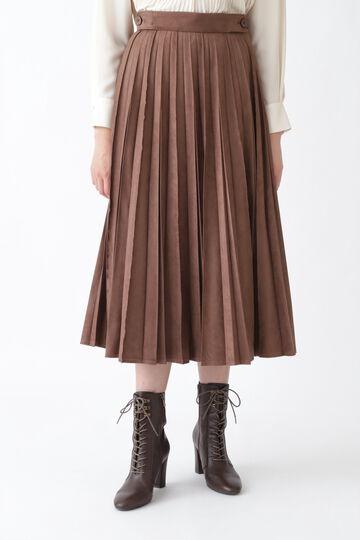 スーププリーツスカート