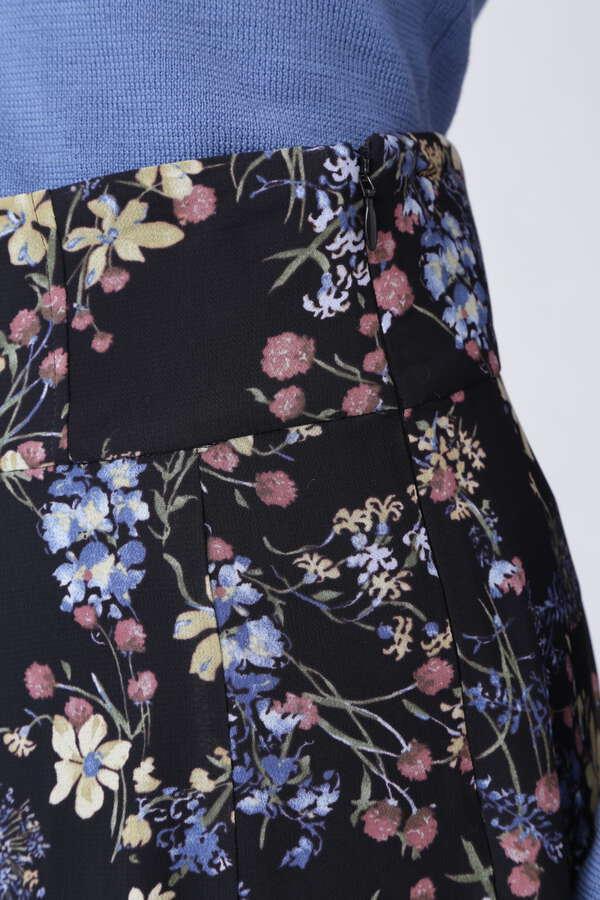 ミックススフラワープリントスカート