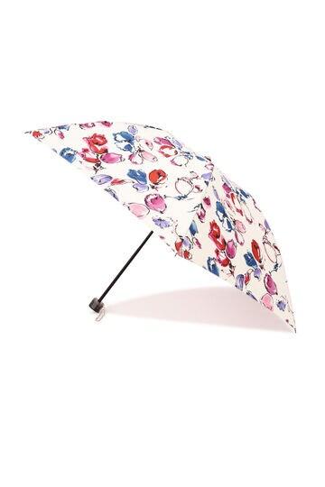 【WEB限定】花柄プリント折り畳み傘