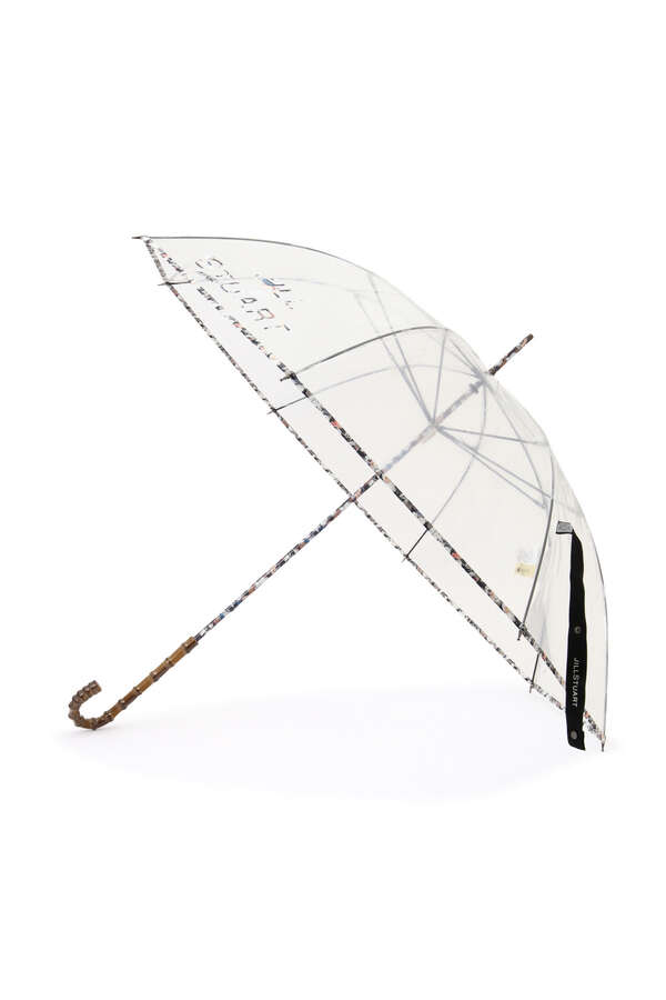 【WEB限定】花ロゴプリントビニール傘