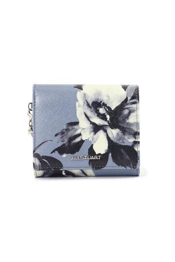 【WEB限定】フラワープリント2つ折り財布