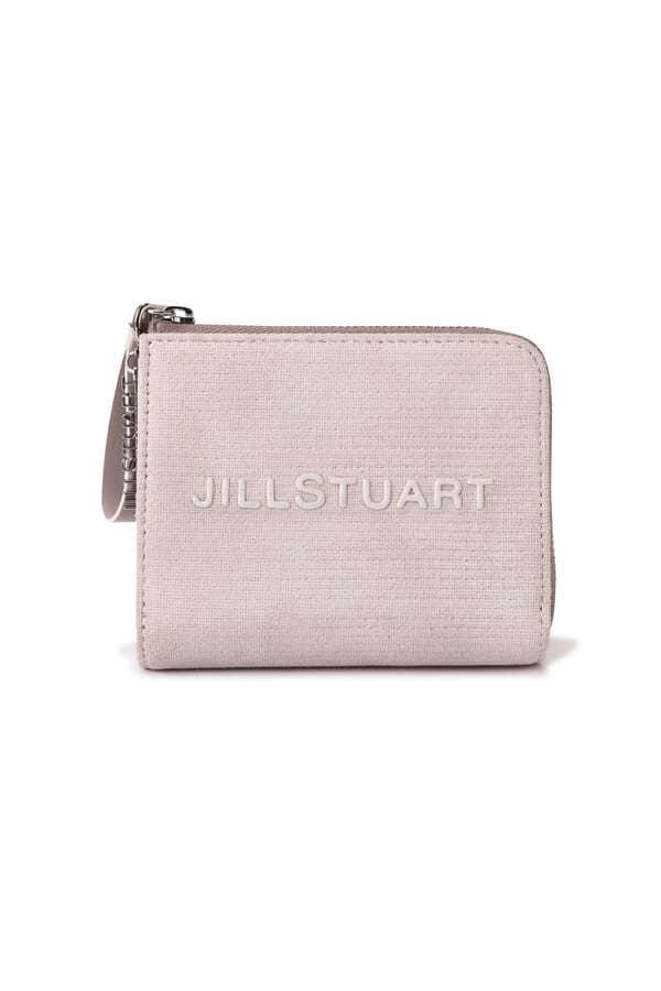 【WEB限定】ロゴ二つ折りファスナー財布