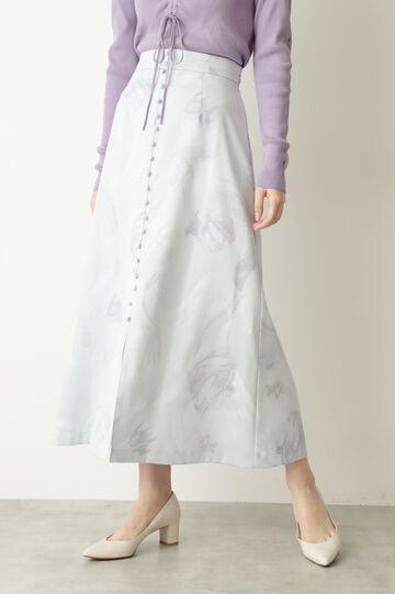 【WEB限定 サイズ:4 展開】ベラマーブルスカート