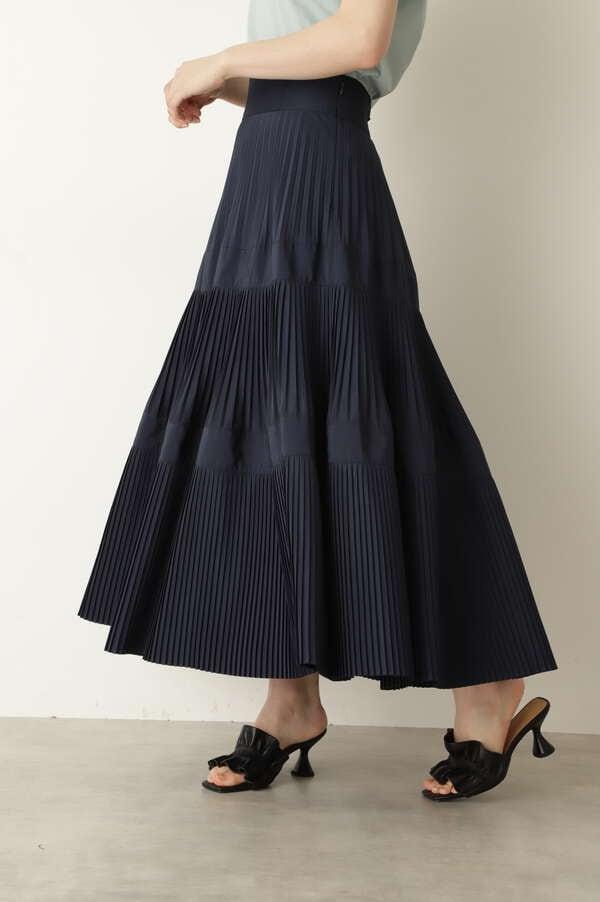【WEB限定 サイズ:4(ピンクのみ)・美人百花5月号掲載】ルーカスタフタスカート