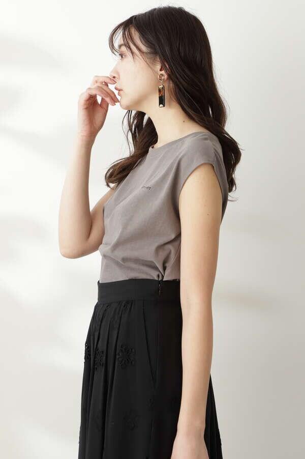タックロゴTシャツ