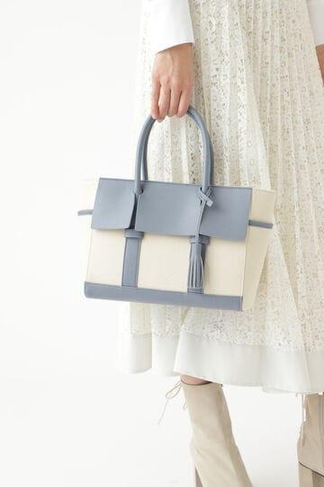 【WEB限定カラー:ピンク】レオナトートバッグ