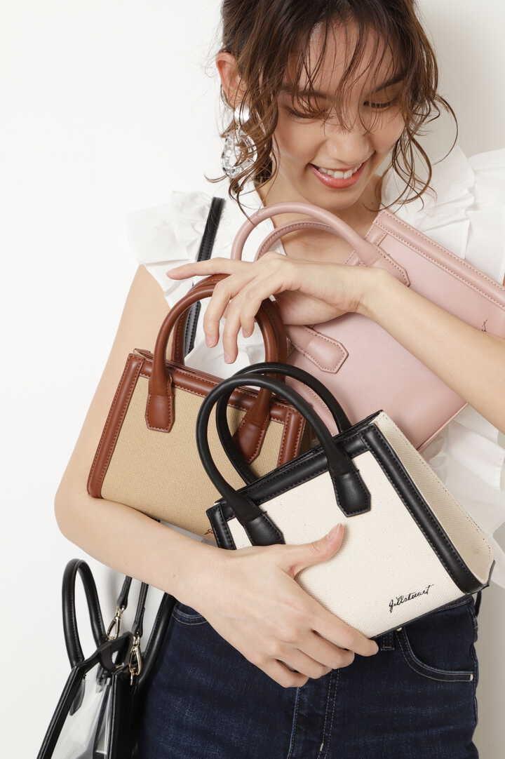 【美人百花6月号掲載】【WEB限定カラー:ピンク】ミニショルダーバッグ