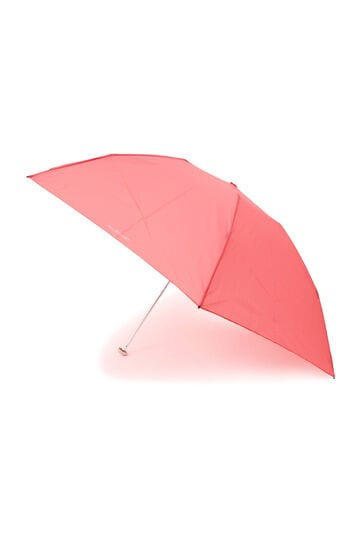 【WEB限定・UV機能付き・軽量】無地ロゴ折り畳み傘