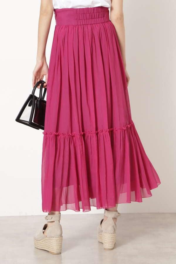 カロギャザースカート