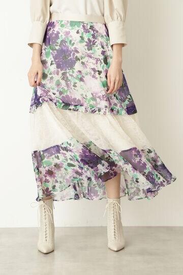 クレアフラワースカート