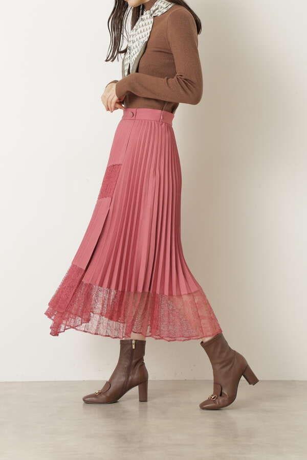 パピオプリーツスカート
