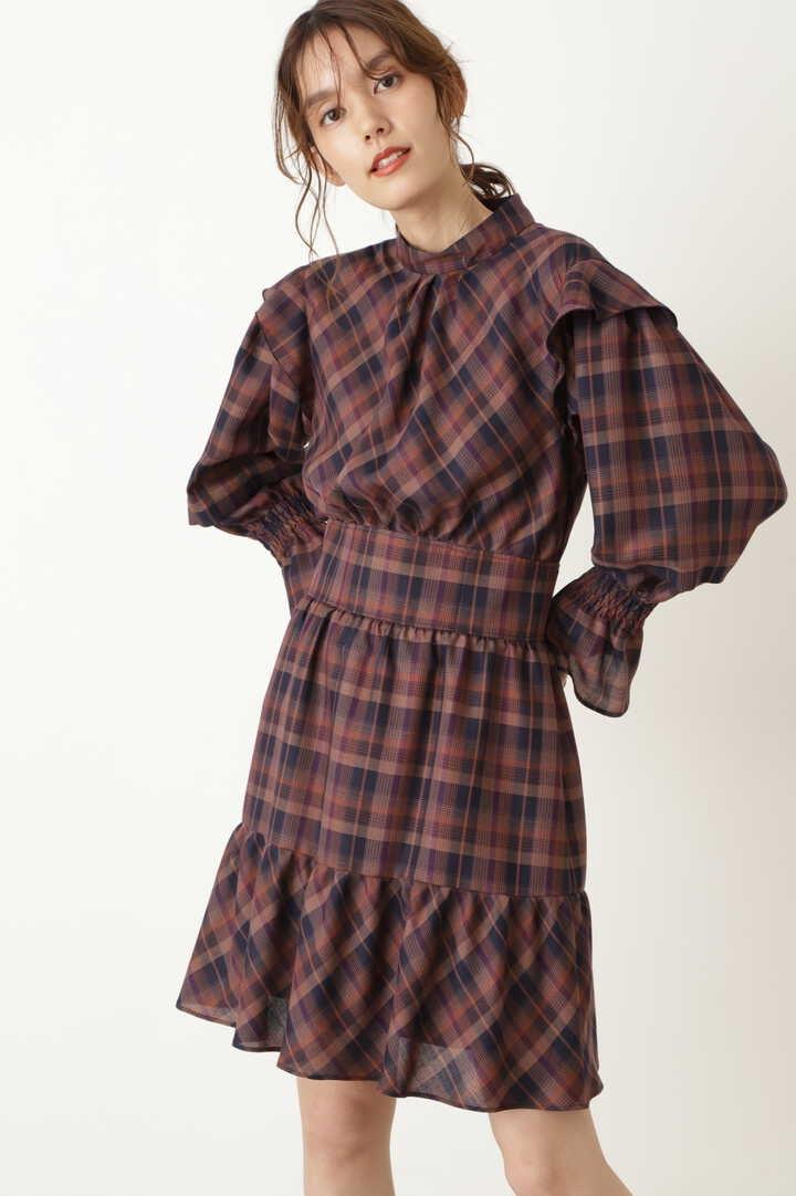 【WEB限定】マリアチェックワンピース