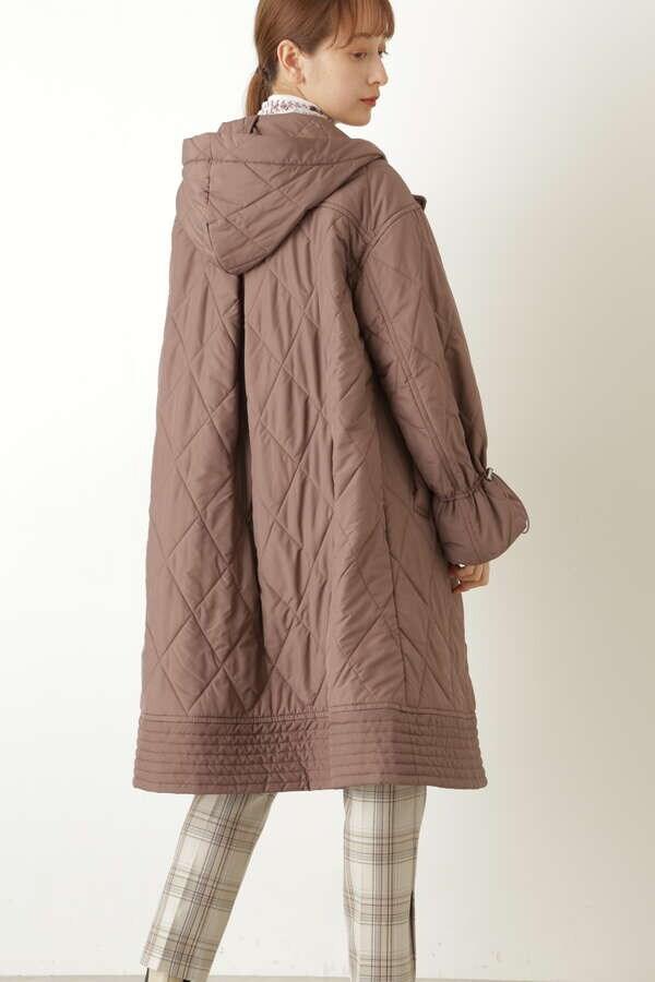 ホリーキルティングコート