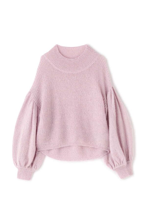 【WEB限定カラー:ピンク】トゥインクルニット