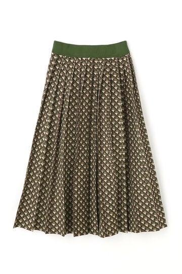 【先行予約 10月中旬-下旬入荷予定】キエラジャガードニットスカート
