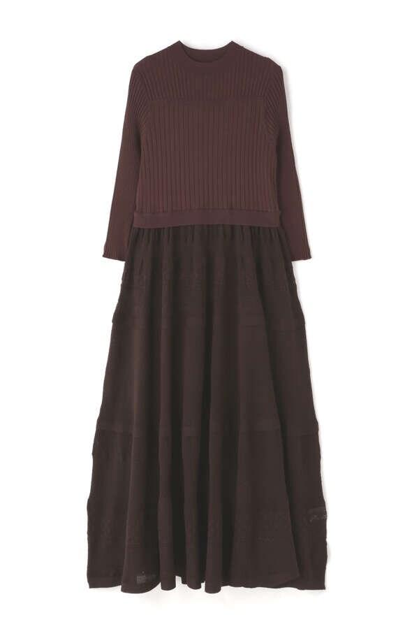 カティアニットドレス