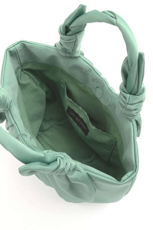タックサテンバッグ