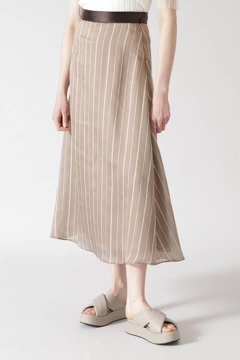シアーストライプスカート