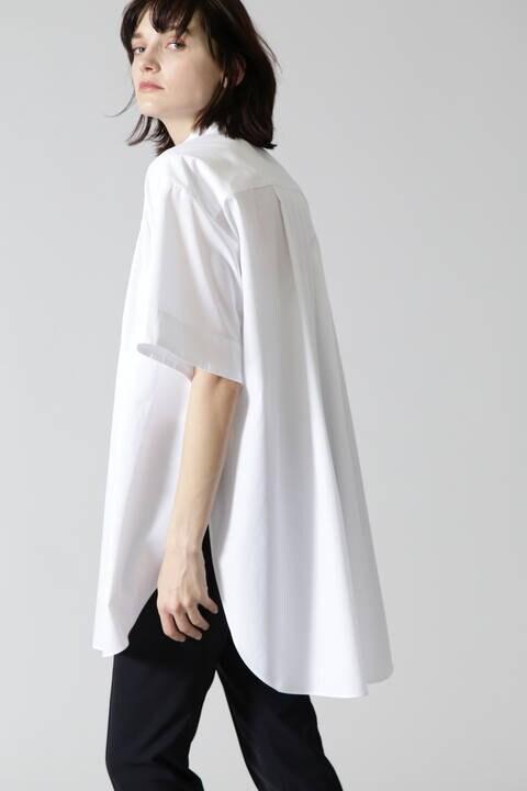 【ドラマ着用】ハイカウントブロードブラウス