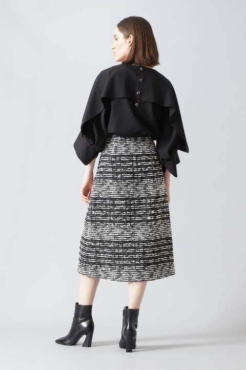 クラシカルツィードスカート