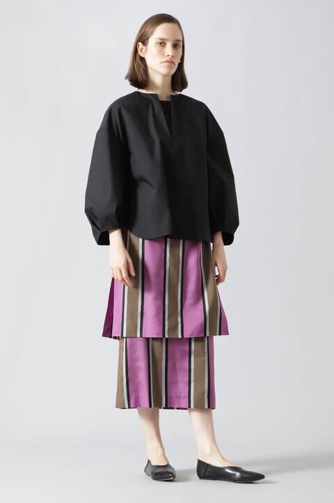 カラーレジメンタルスカート
