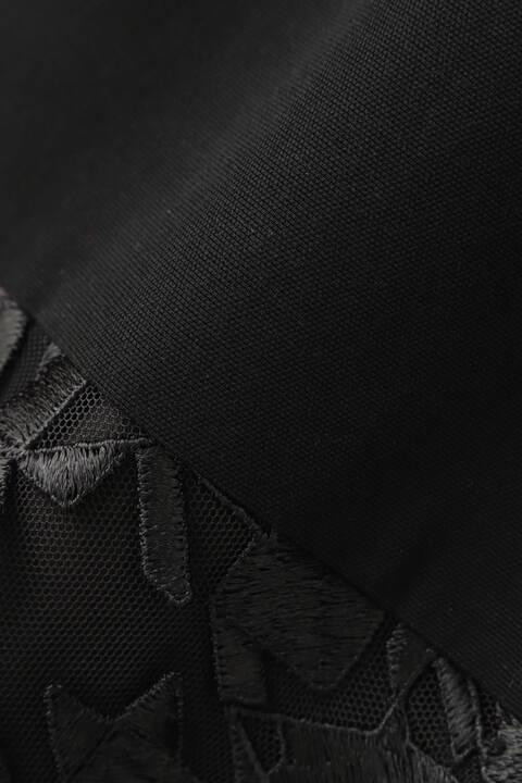 【WEB限定 34サイズ展開】チュールハウンドトゥース