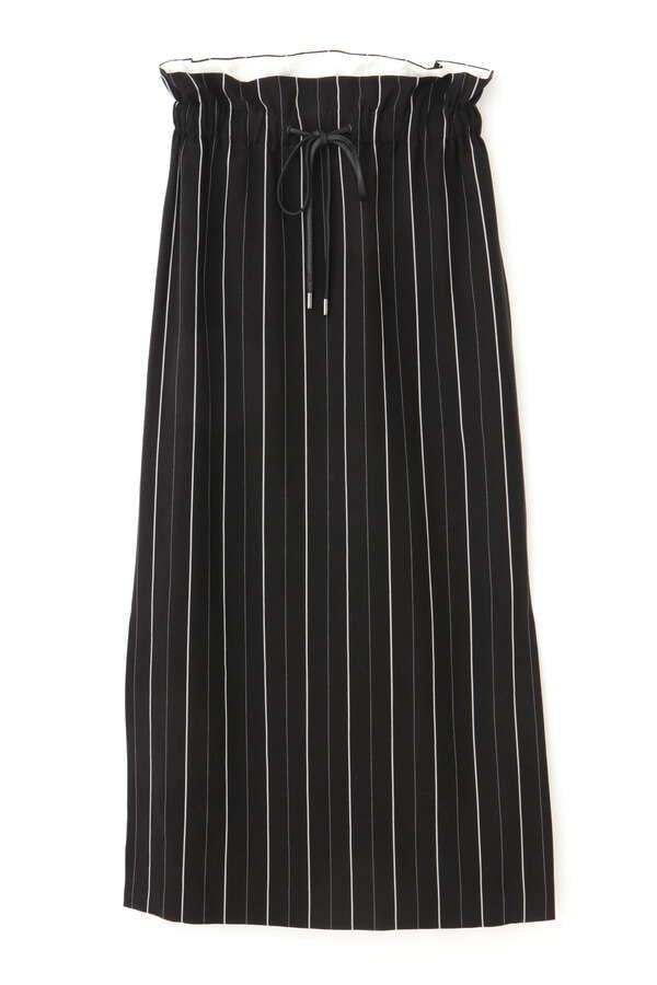 ユーカリストライプスカート