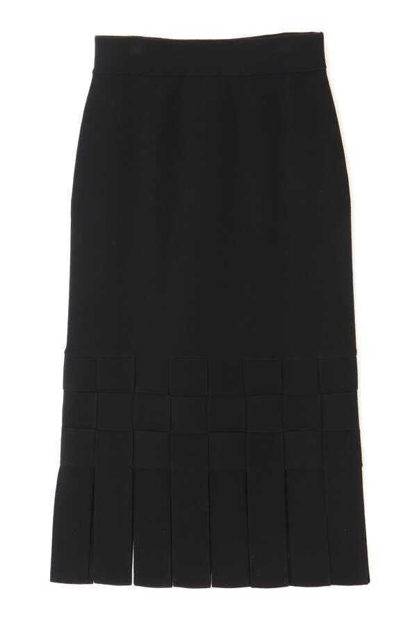 クリアストレッチニットスカート