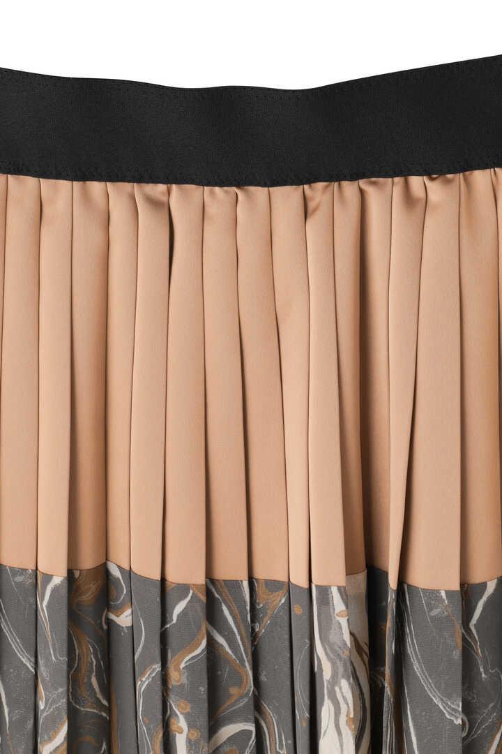 マーブルプリントスカート